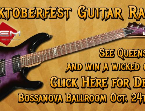 Rocktoberfest OEM Guitar Raffle